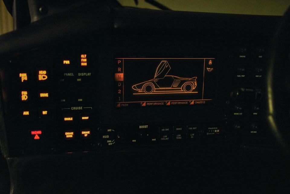 Экран бортового компьютера