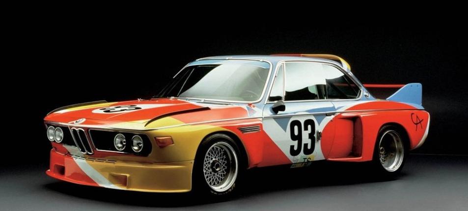 уникальный BMW 3.0 CSL Batmobile GT команды BMW Motorspor