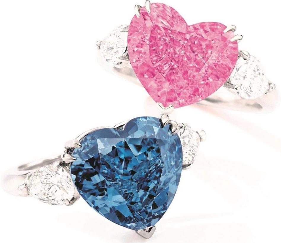 Два цветных бриллианта