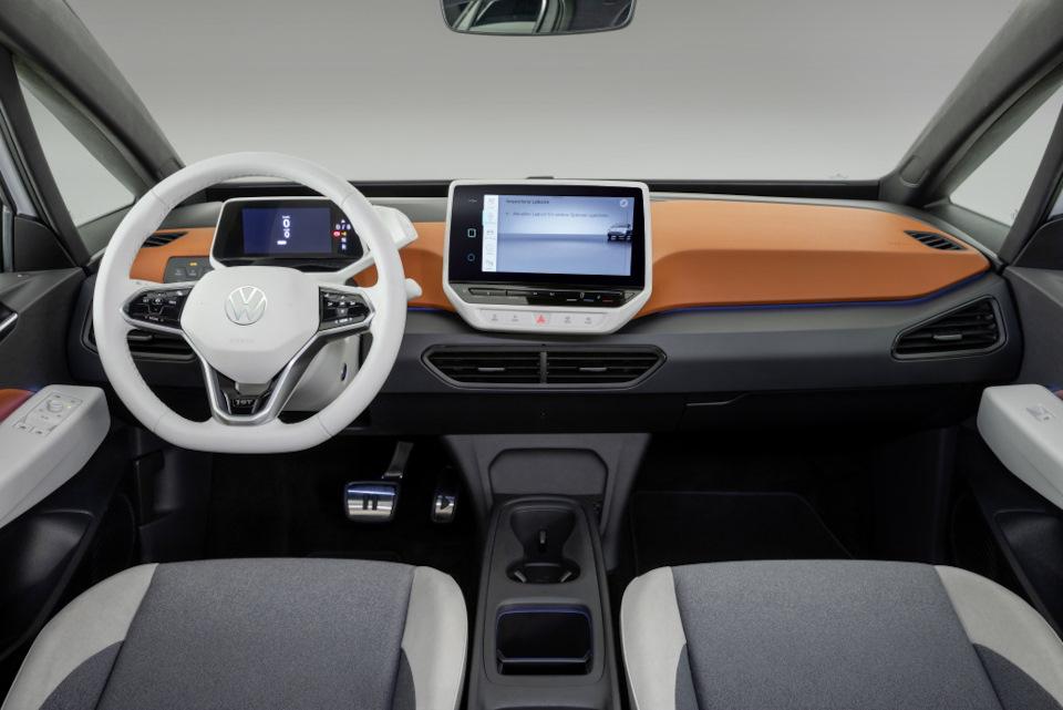 интерьер Volkswagen ID.3