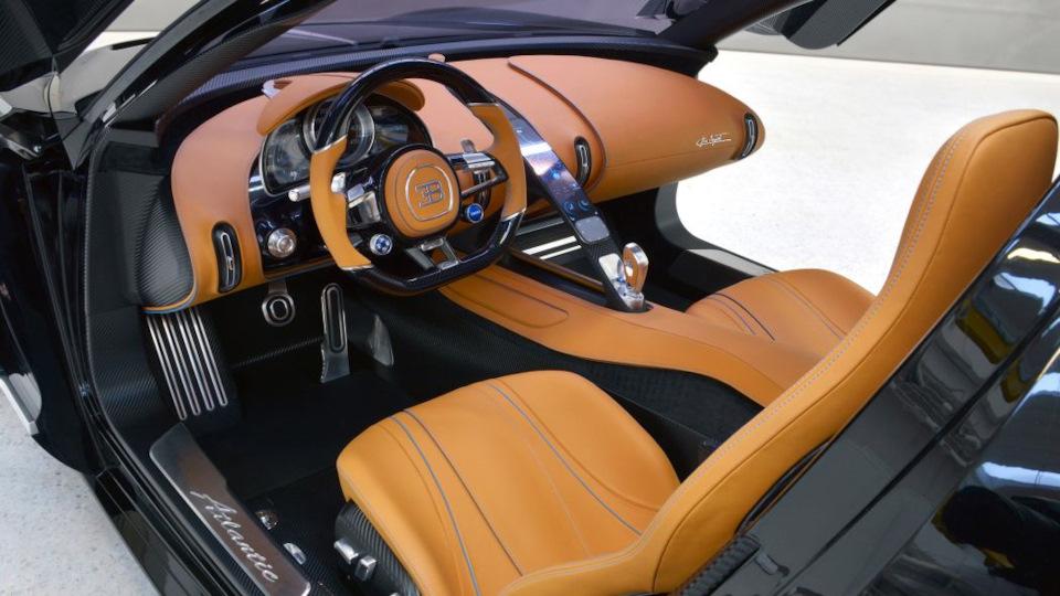 информация о Bugatti Atlantic Concept