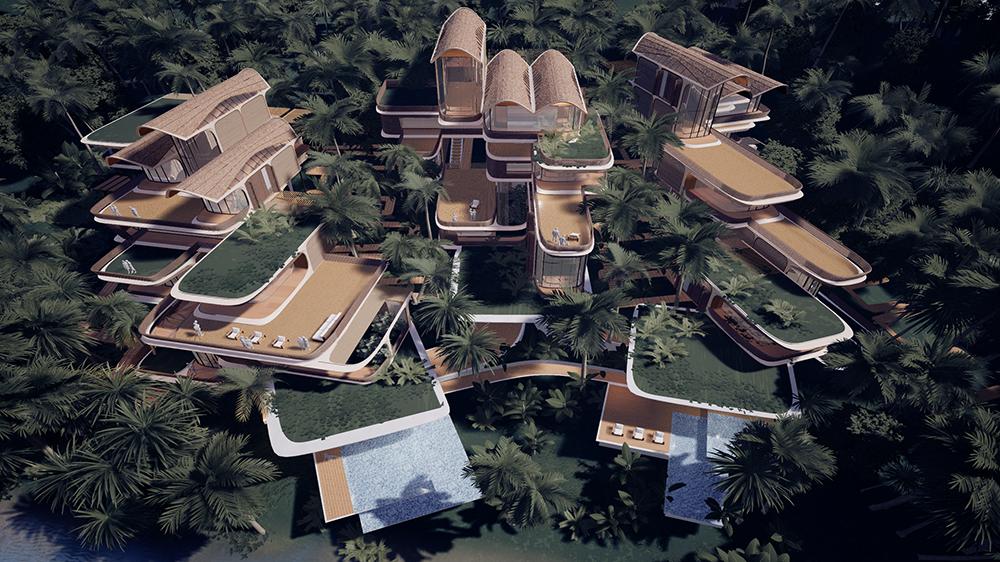 комплекс Zaha Hadid Architects