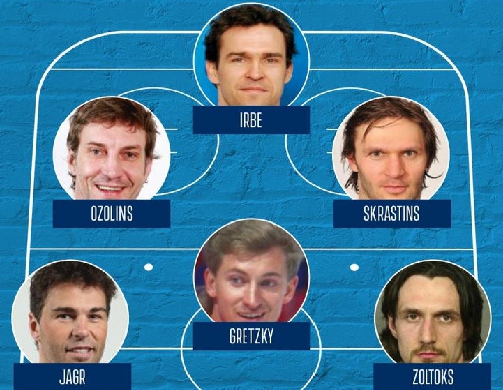 шесть лучших игроков в истории