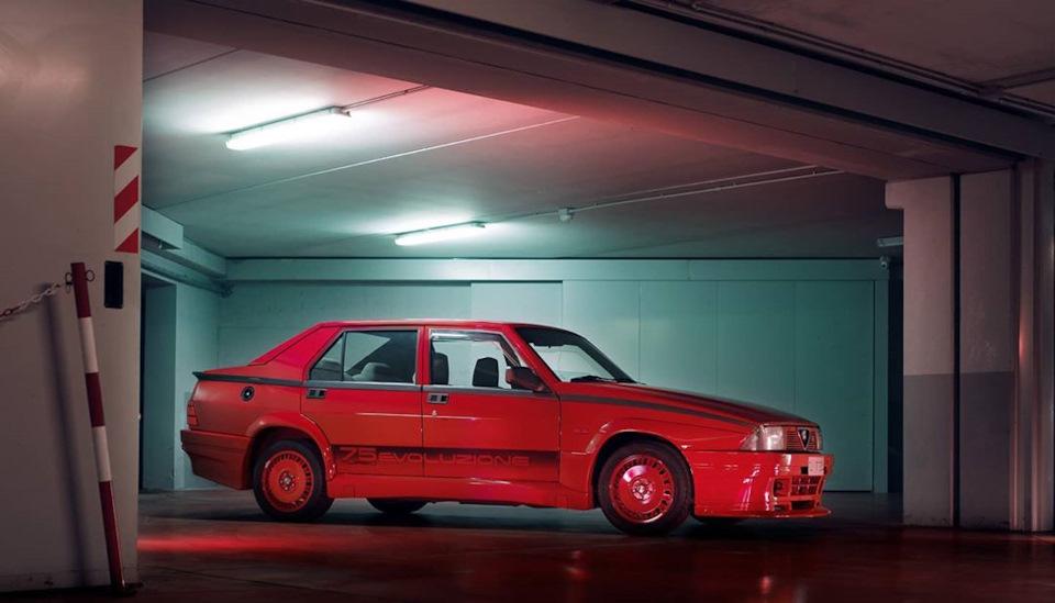 характеристики и обзор Alfa Romeo 75 1.8 Turbo Evoluzione