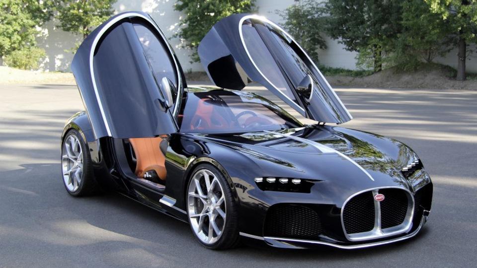 Bugatti концепты