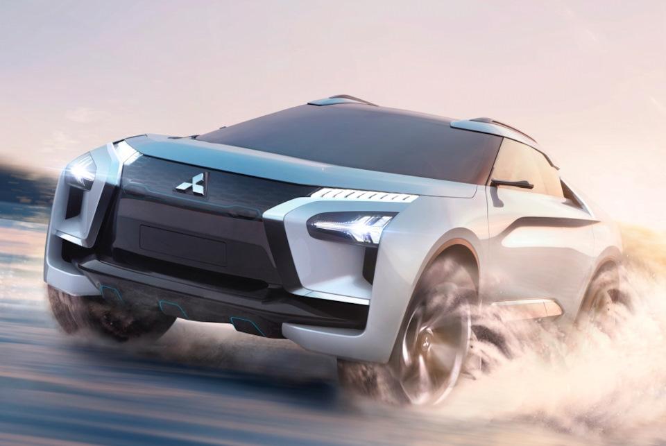 Mitsubishi e-Evolution Concept фото