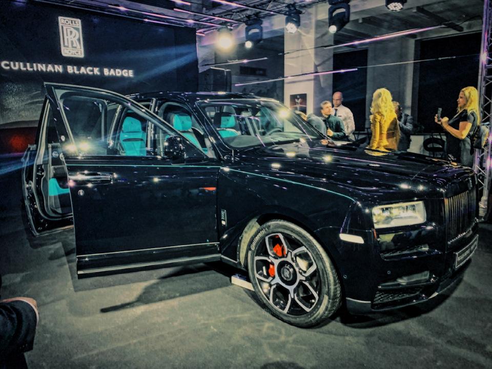 характеристики Rolls-Royce Cullinan Black Badge