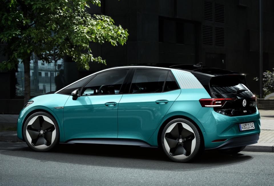 электрический Volkswagen ID.3