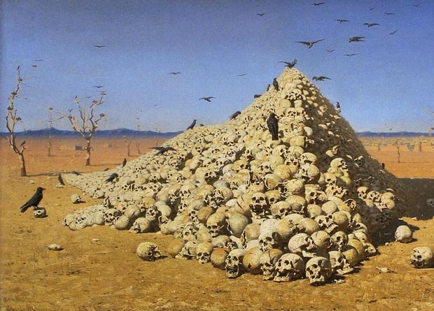 Василий Верещагин, «Апофеоз войны» (1871 год)