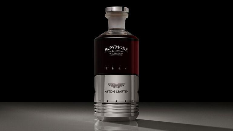 бутылка Aston Martin DB5