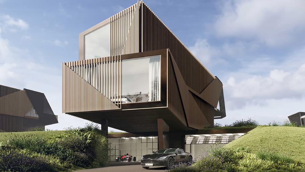архитектура дома в англии