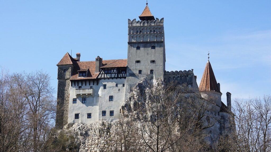 замок графа Дракулы  фото
