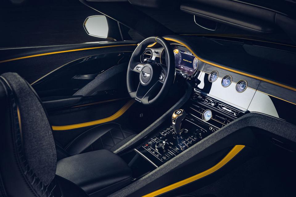 внутри Bentley Bacalar