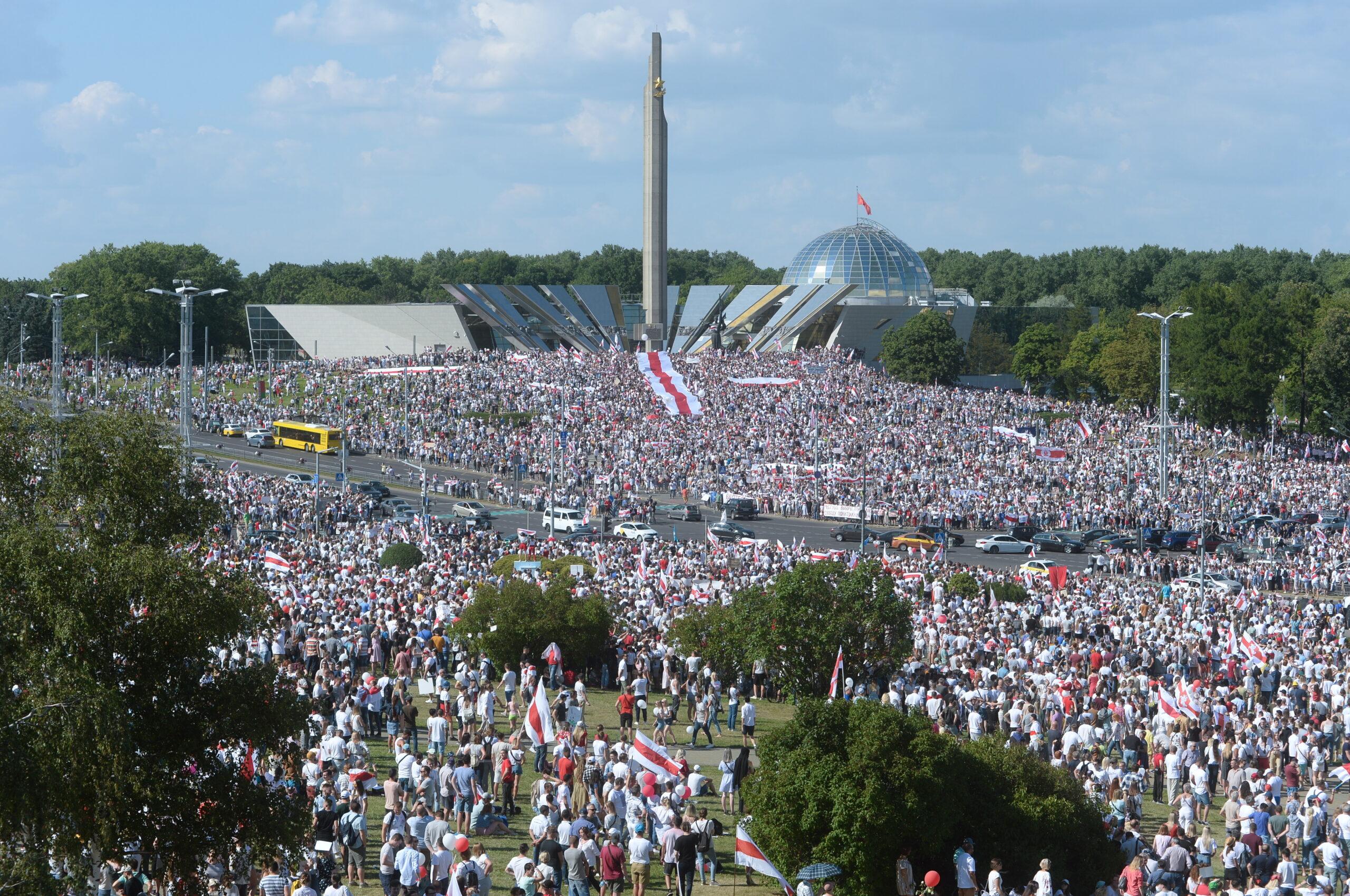 митинг Минск