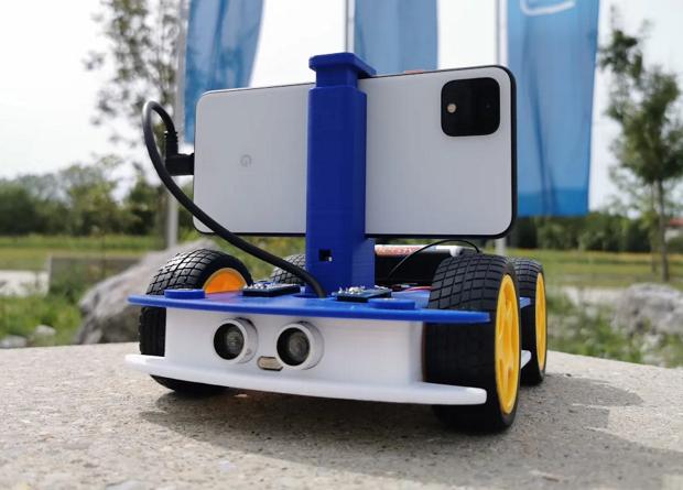 Intel создали открытый проект робота
