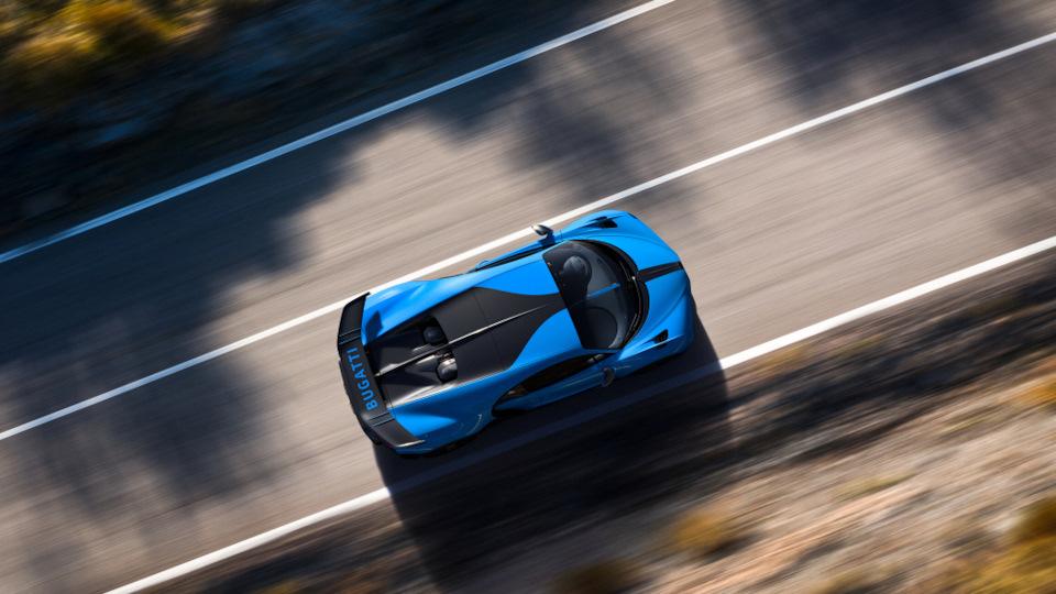 характеристики Bugatti Chiron Pur Sport