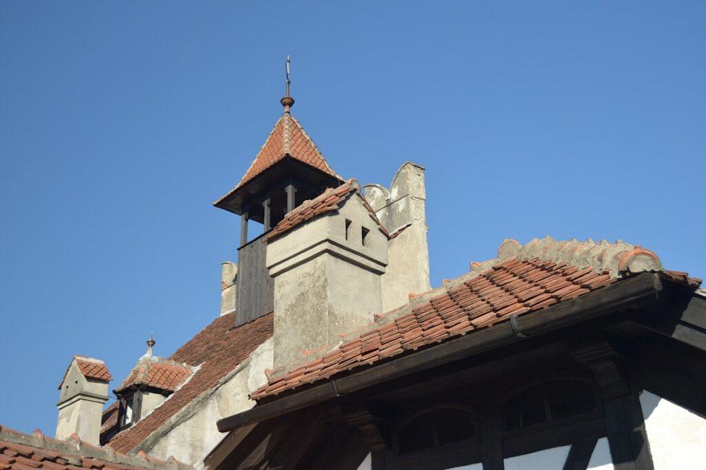 детали замок графа Дракулы