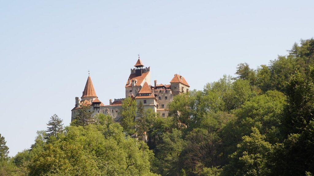 пейзажи замок графа Дракулы