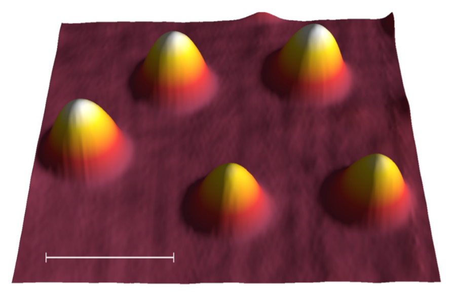Томография атомов железа
