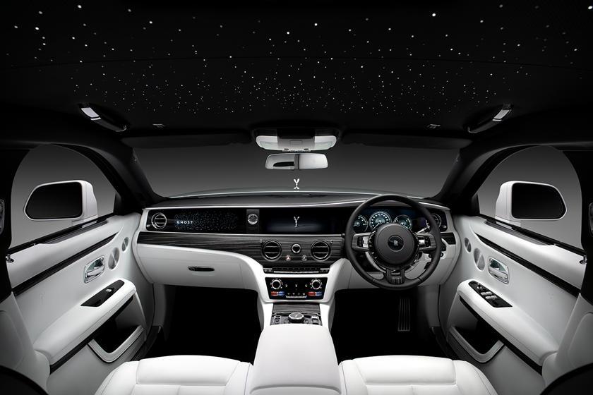 интерьер нового Rolls-Royce Ghost