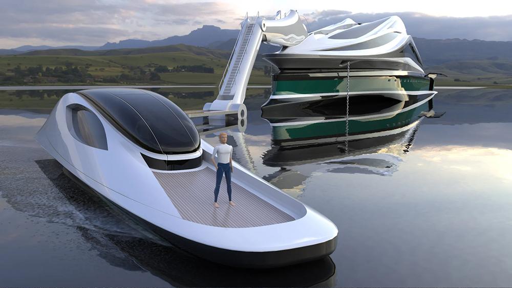 лодка и проект
