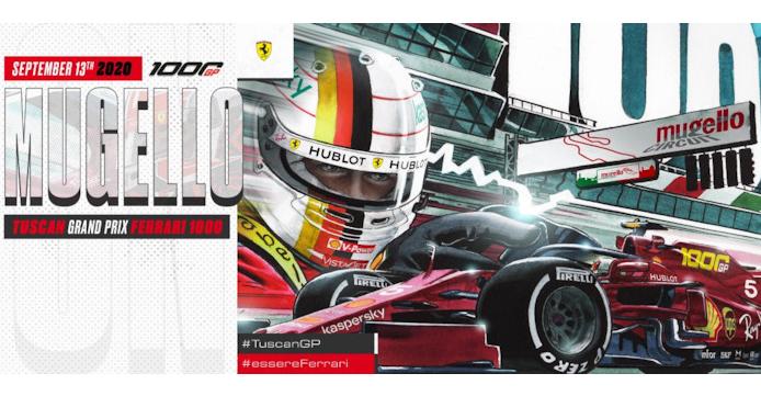 1000-й Гран-при Ferrari