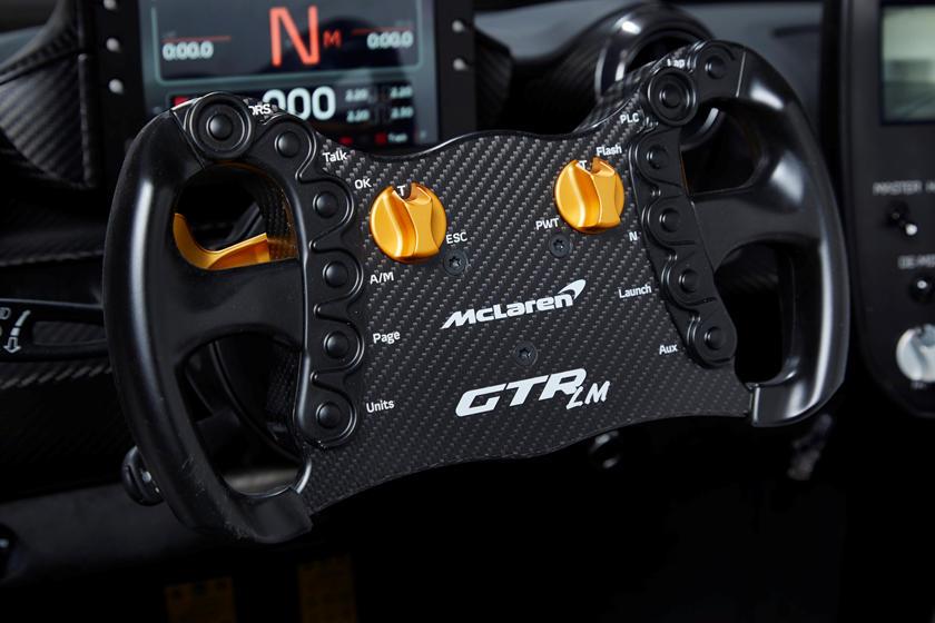 руль McLaren Senna GTR LM