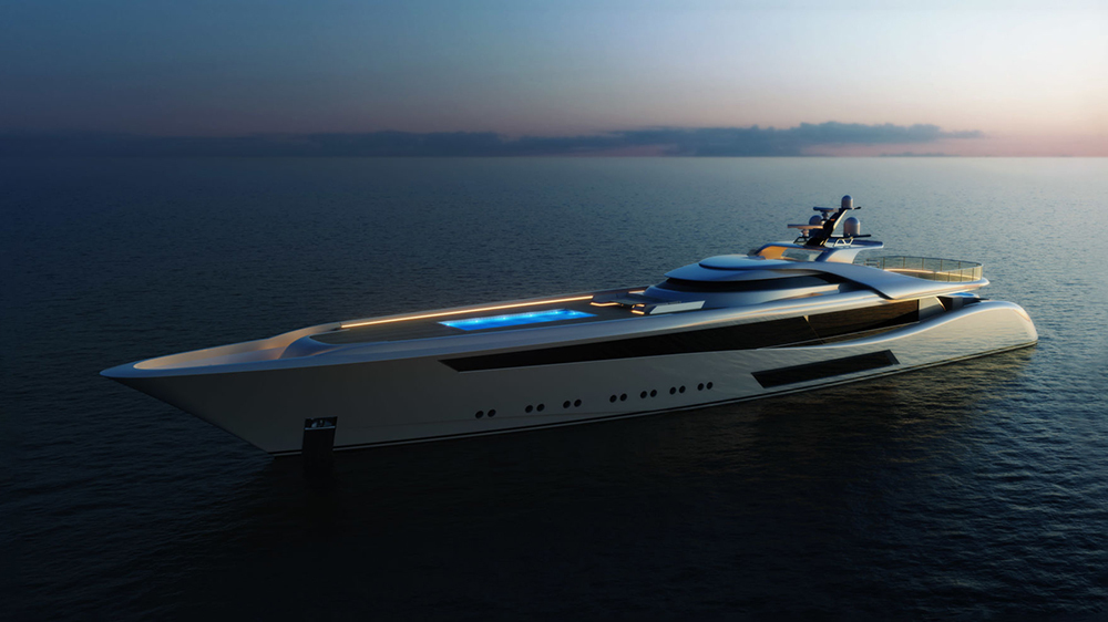 проект яхты