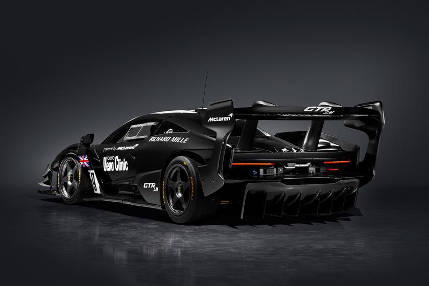 сравнение McLaren Senna GTR LM