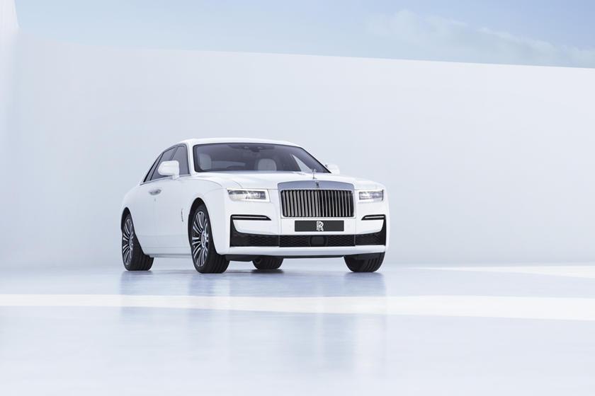 обзор нового Rolls-Royce Ghost