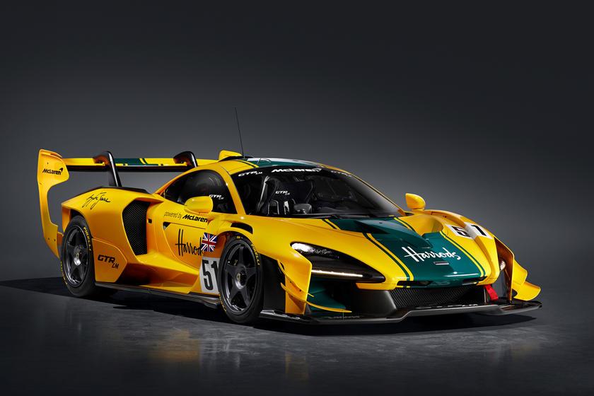 обзор McLaren Senna GTR LM