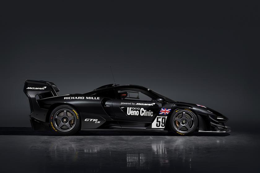 информация о McLaren Senna GTR LM