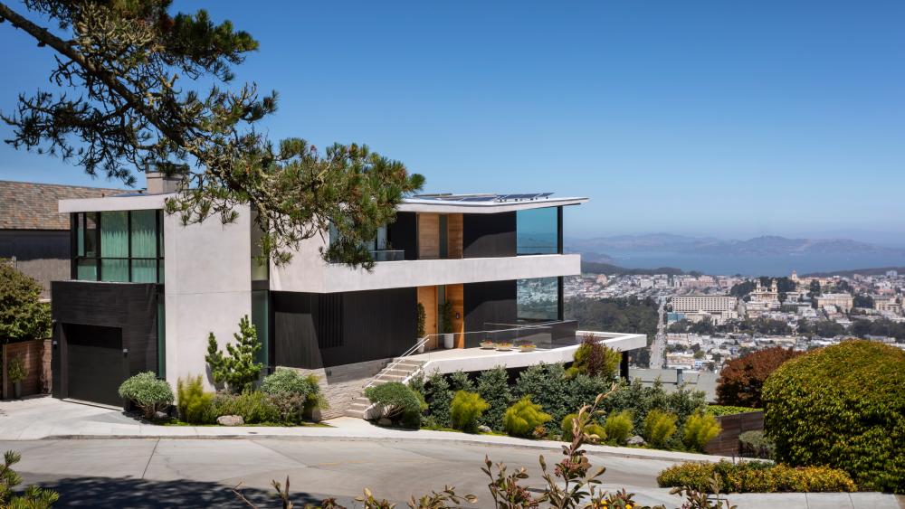 Самый высокий над уровнем моря дом в Сан-Франциско