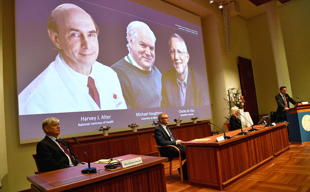 Нобелевскую премию по медицине