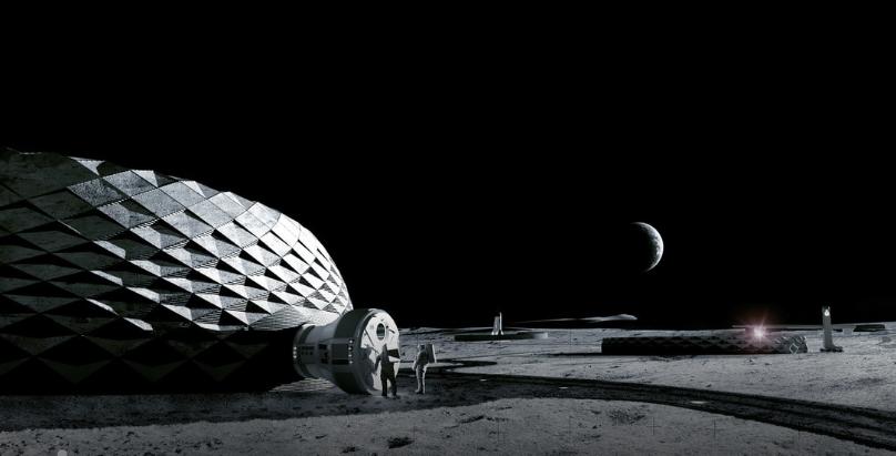 здания для Луны