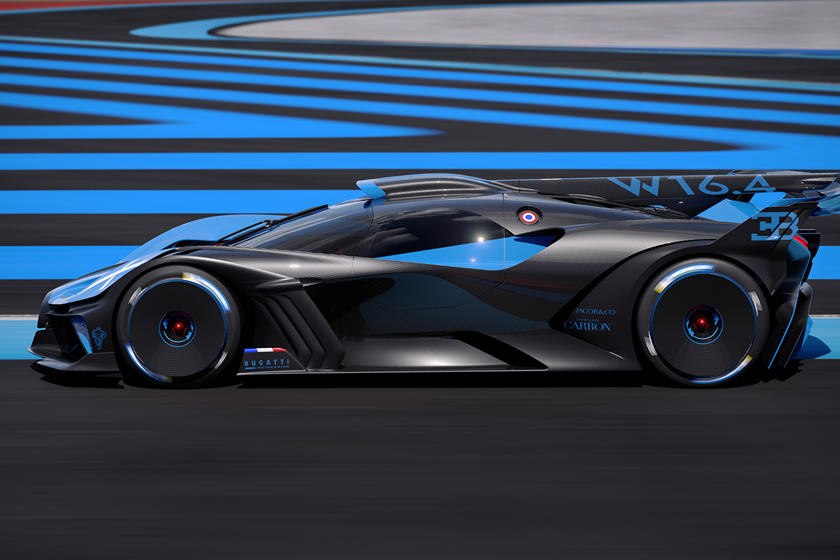 дизайн и цена Bugatti Bolide