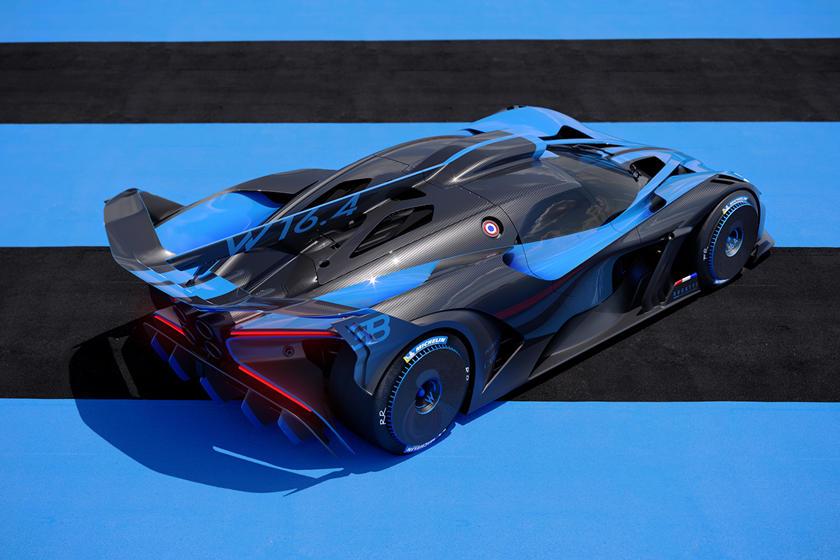 Фото Bugatti Bolide
