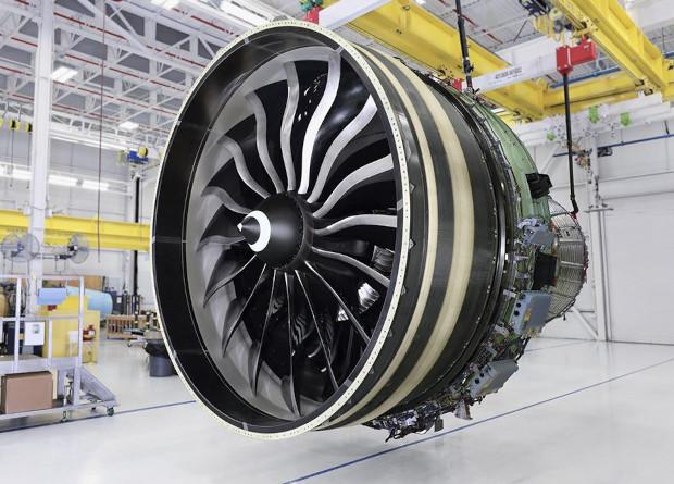 Крупнейший авиадвигатель