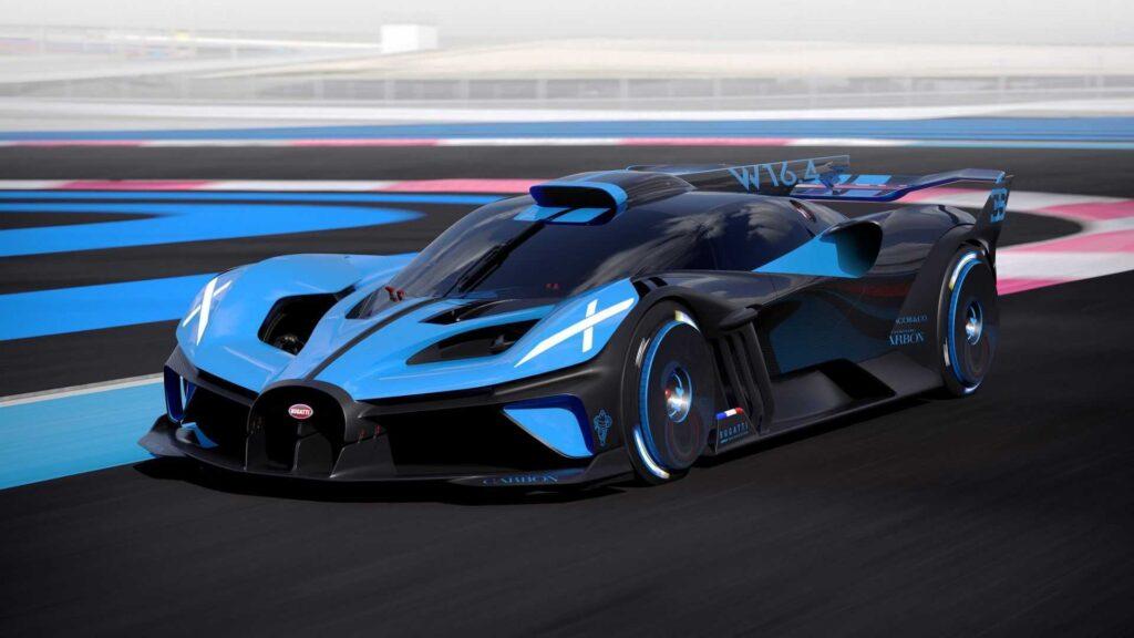 Bugatti Bolide характеристики, обзор и фото