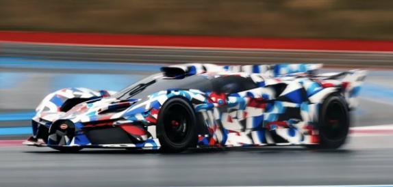 Bugatti X-Wing фото и видео обзор