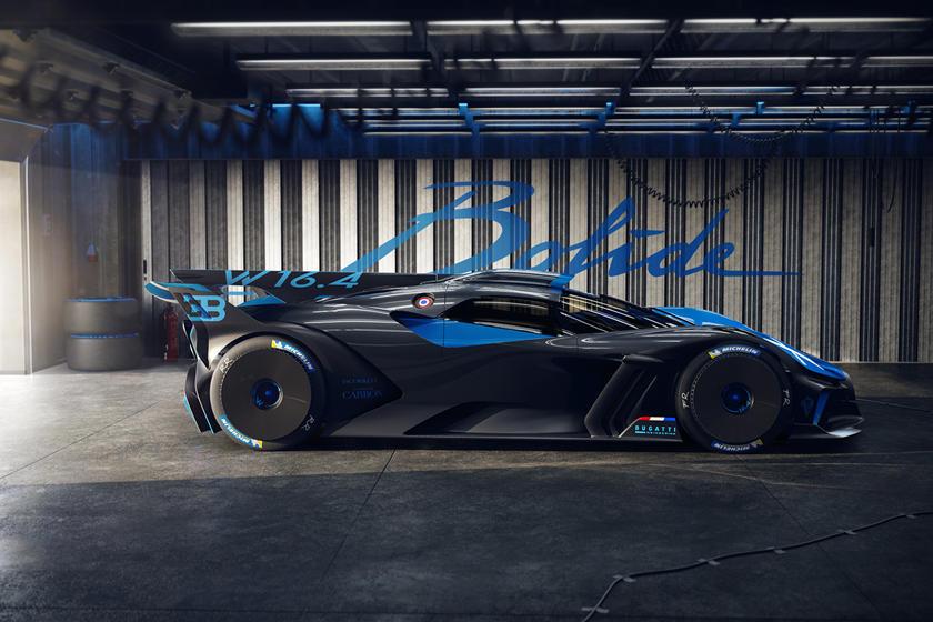 максимальная скорость Bugatti Bolide