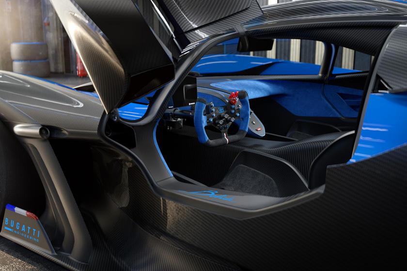 внутри Bugatti Bolide и цена