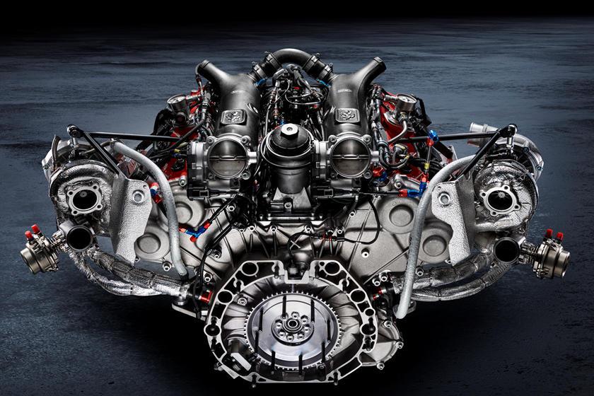 двигатель и характеристики Ferrari 488 GT Modificata