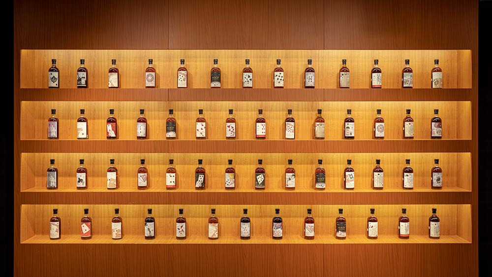 Редкая серия японских виски