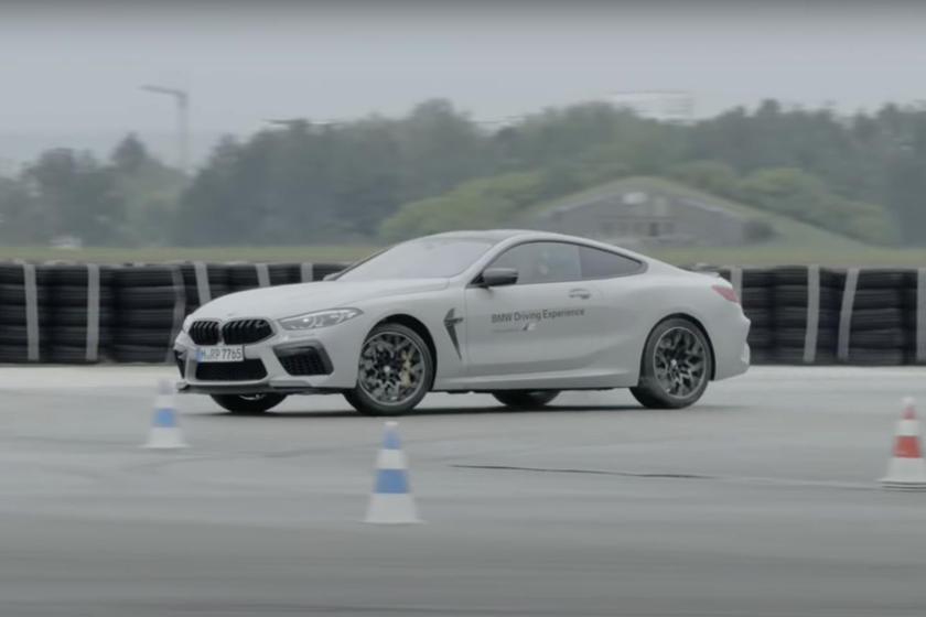 BMW учит нас как управлять M8