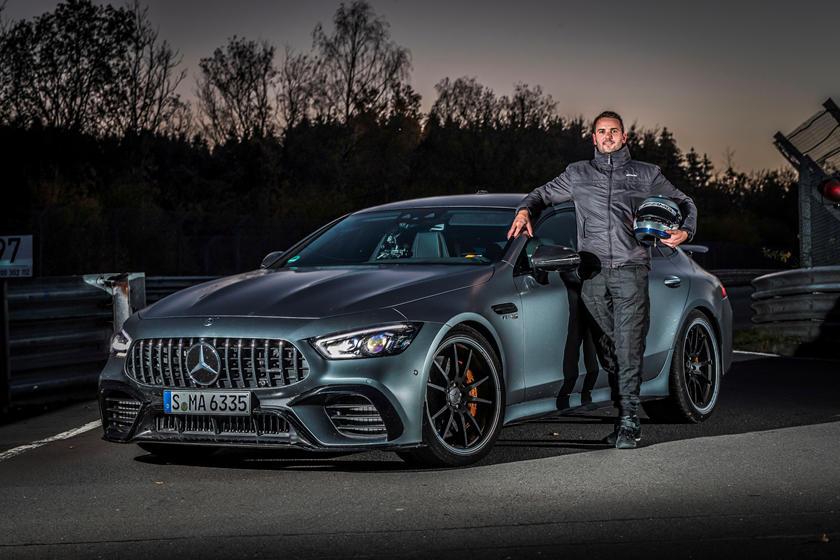 рекорд круга Mercedes-AMG GT 63 S