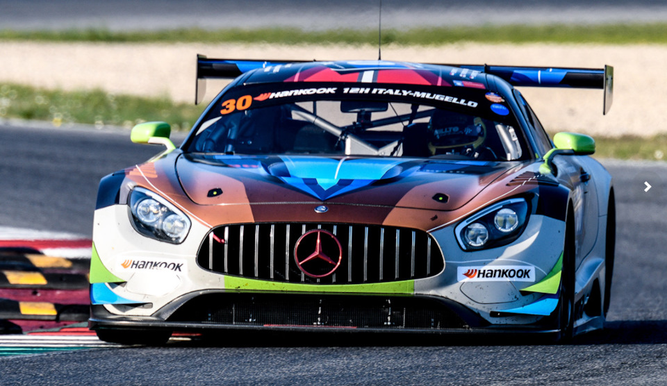 Mercedes AMG GT3 Ram Racing 2017