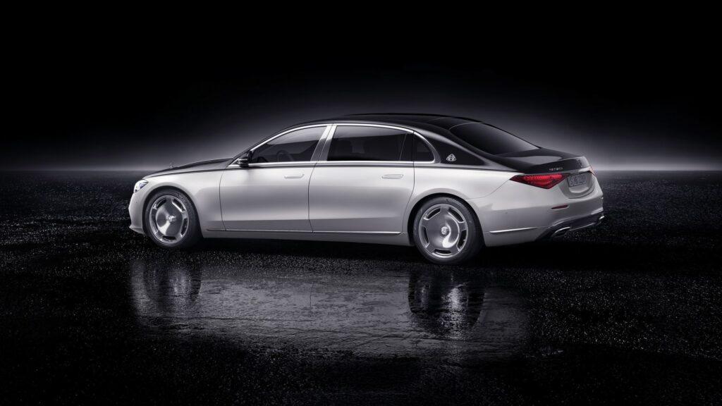 двухцветная окраска Mercedes-Maybach S