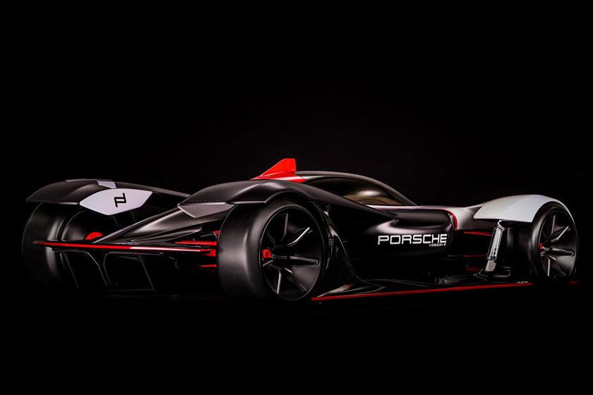 Porsche Vision E характеристики