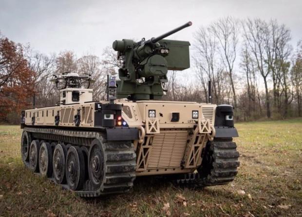 Армия США получила наземных роботов